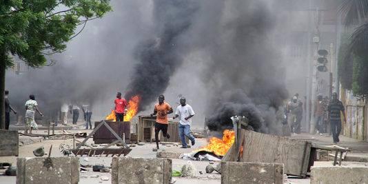 Après Dapaong, Niamtougou, les émeutes ont gagné ce jeudi Kanté dans Politique emeu