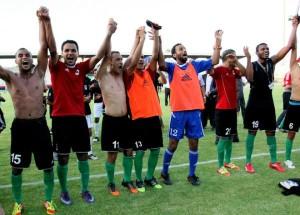 Elim Mondial 2014: la Libye se débarrasse du Togo et consolide sa première place dans le groupe I dans Football libyejoie-300x215