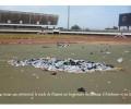Après le concert SEA Fondation, la pelouse du stade de Kégué transformée en un nid d'ordures