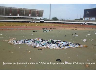 Après le concert SEA Fondation, la pelouse du stade de Kégué transformée en un nid d'ordures dans Société kegue