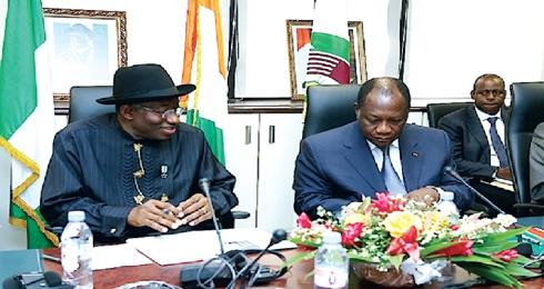Législatives au Togo: Les Présidents Ouattara et Goodluck sensibilisent les acteurs politiques dans Politique leg